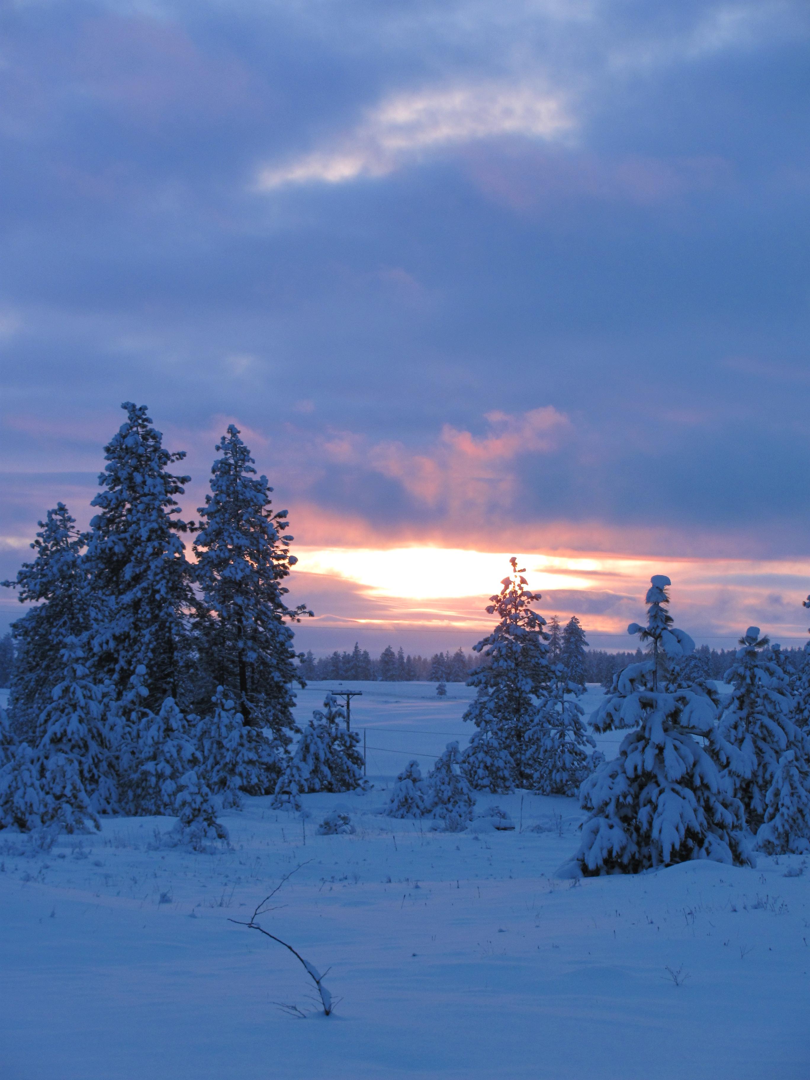 Christmas Eve Sunset 2